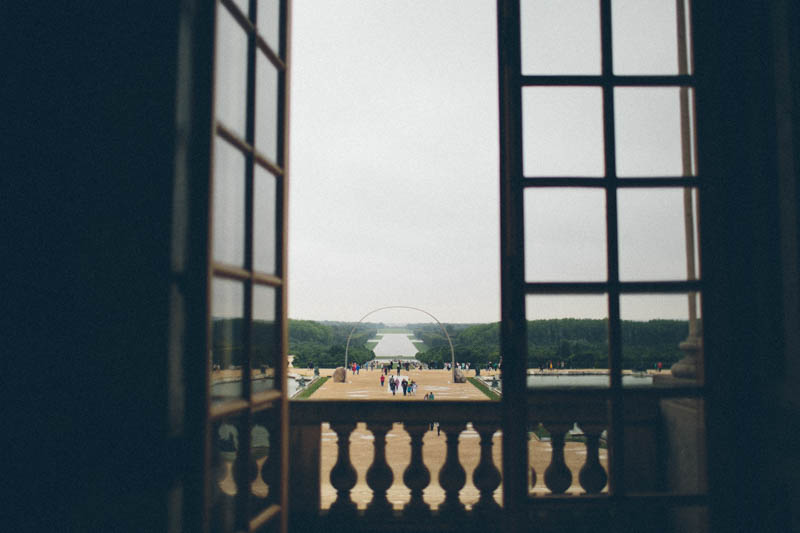France travel photography Versailles palace views