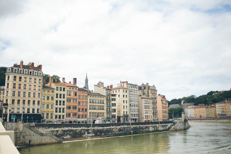 France travel photography Lyon Saone river