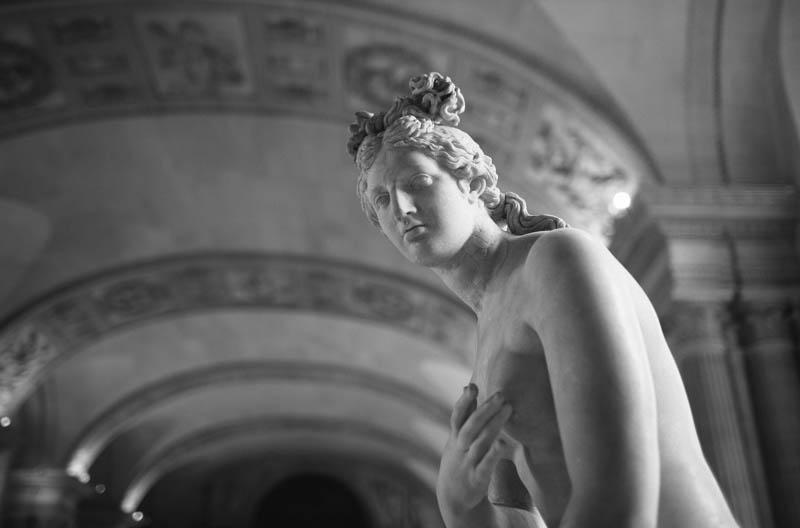 France travel photography Louvre sculpture Paris