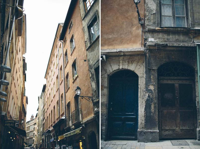 France travel photography Lyon streets
