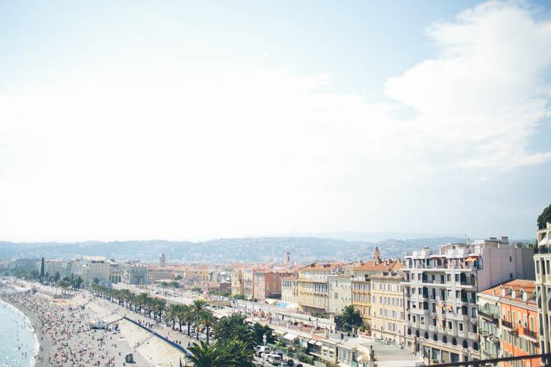 France travel photography Nice Promenade des Anglais landscape