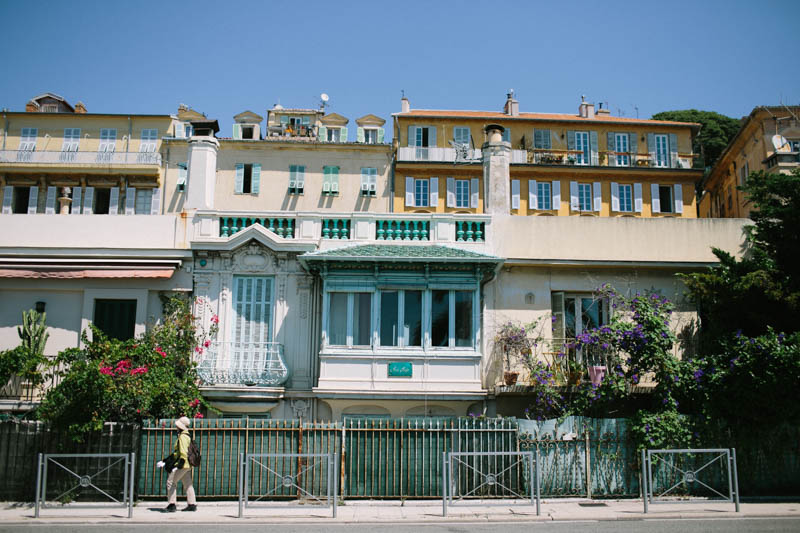 France travel photography Nice Promenade des Anglais