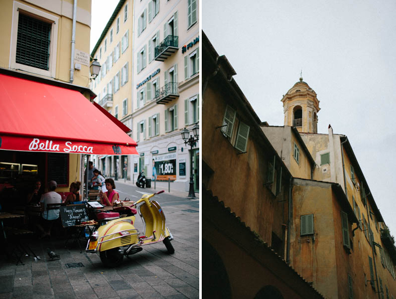 France travel photography Nice streets Old Town