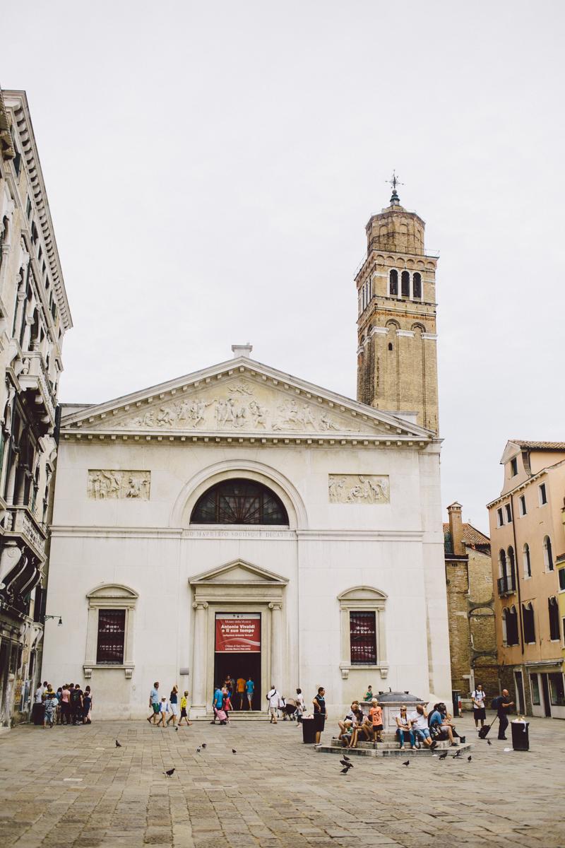 Venice old architecture