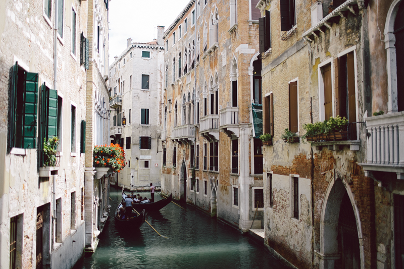 Venice old architecture canals