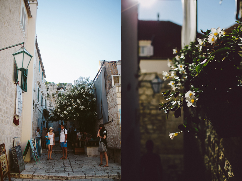 croatia travel photography hvar streets