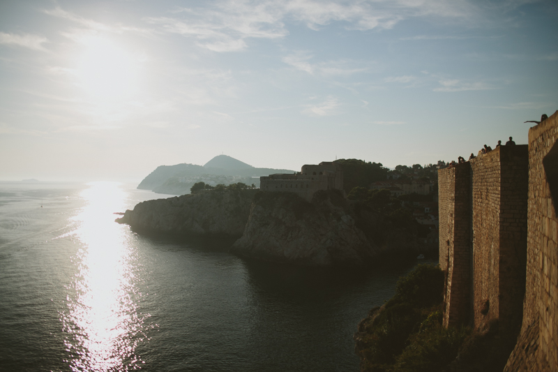 croatia travel photography dubrovnik old town walls