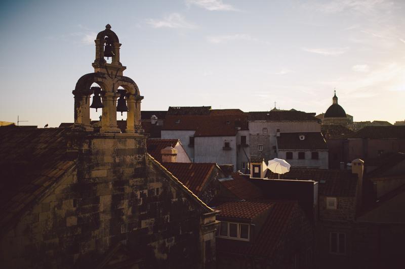 croatia travel photography dubrovnik old town church bells