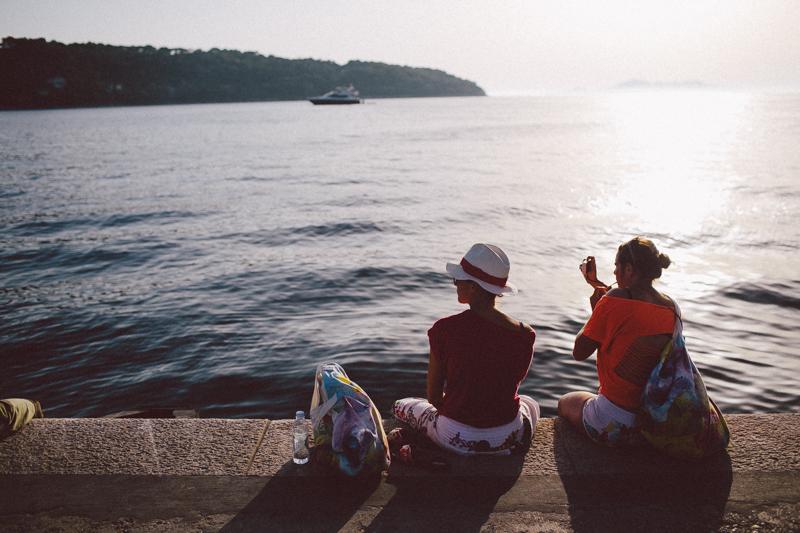 croatia travel photography lopud island adriatic coast summer ocean