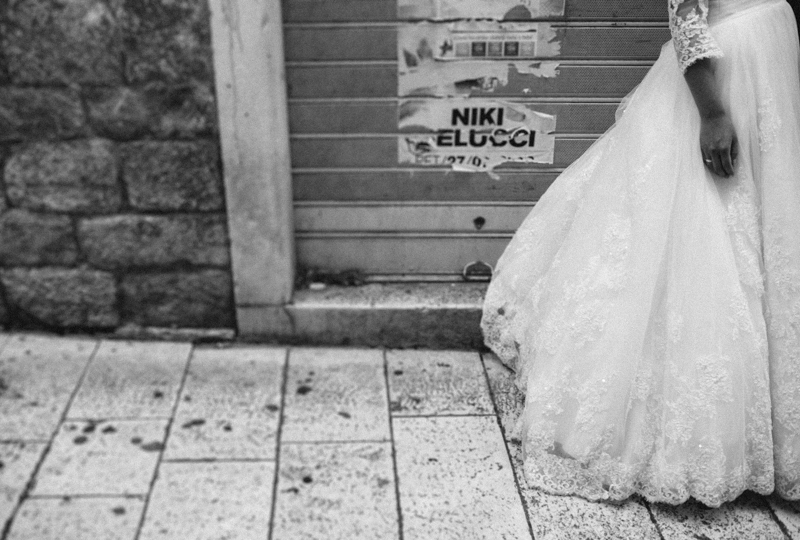 croatia travel photography wedding photography bride wedding dress split