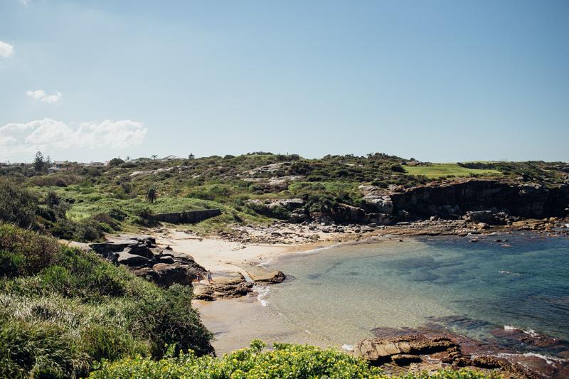 coastal photography little bay beach sydney weddings