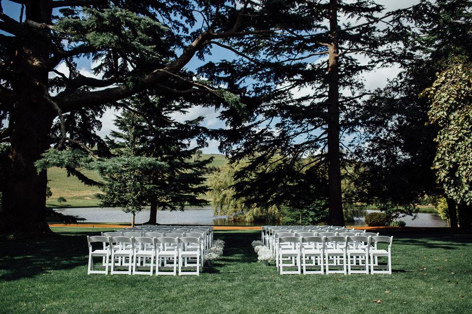 bendooley estate wedding ceremony in southern highlands
