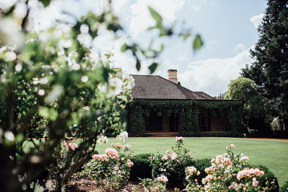 bendooley estate homestead and rose garden in southern highlands