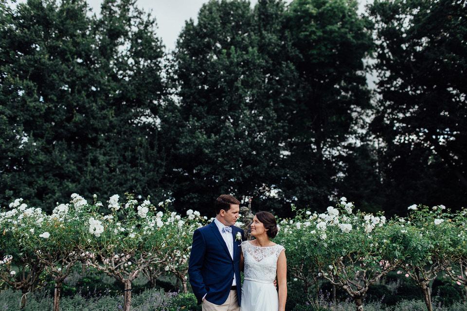 Bendooley estate wedding photos rose garden
