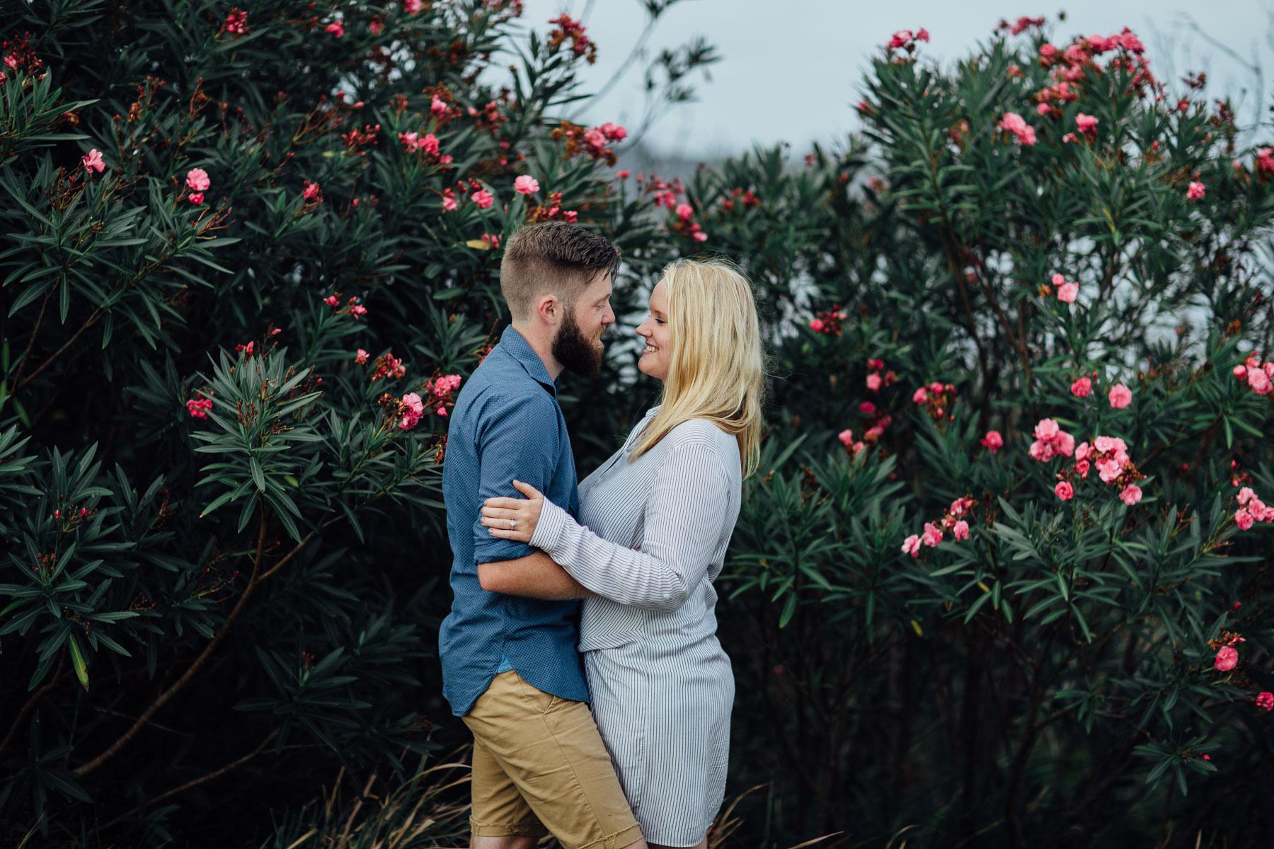 Sydney Royal National Park engagement photos