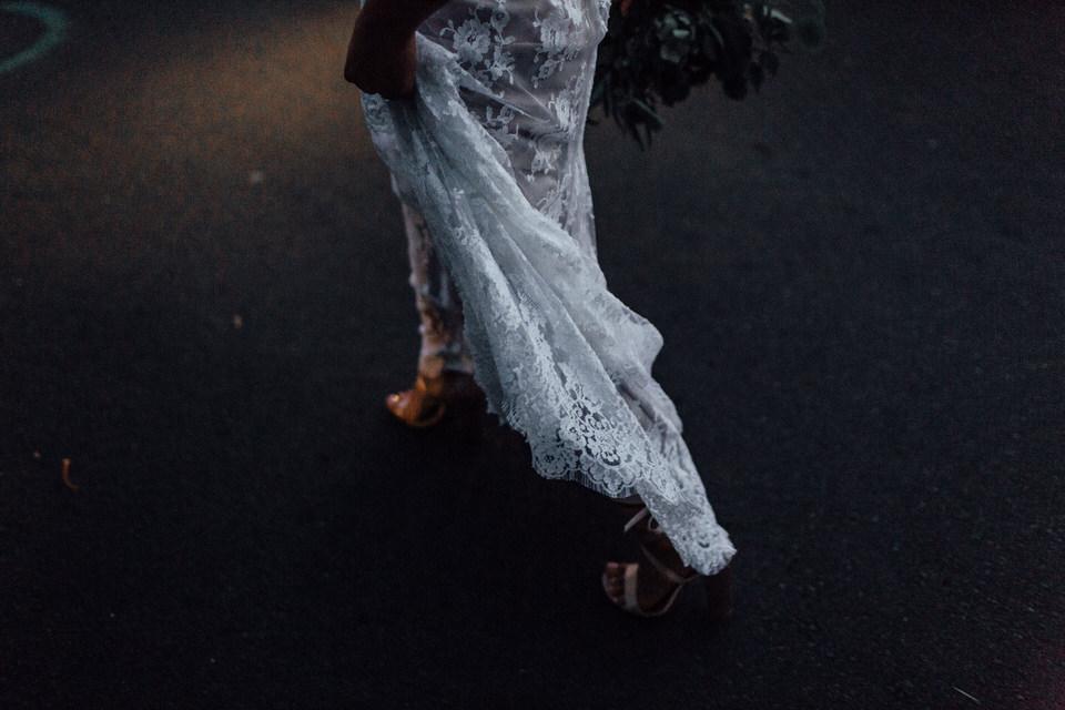 Rue De Seine lace wedding dress