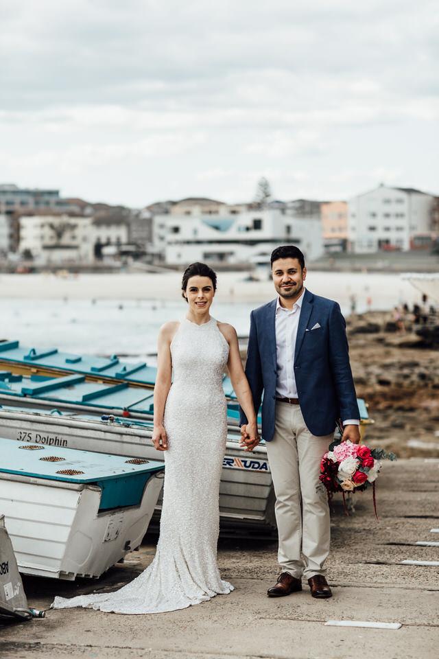 Bondi Beach wedding photography