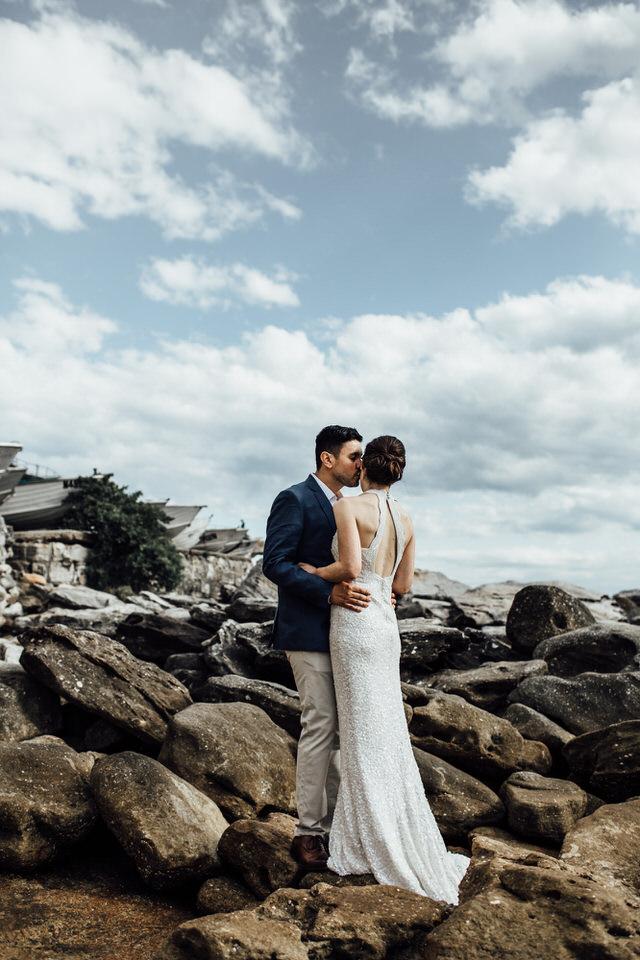 Sydney Beach wedding photos