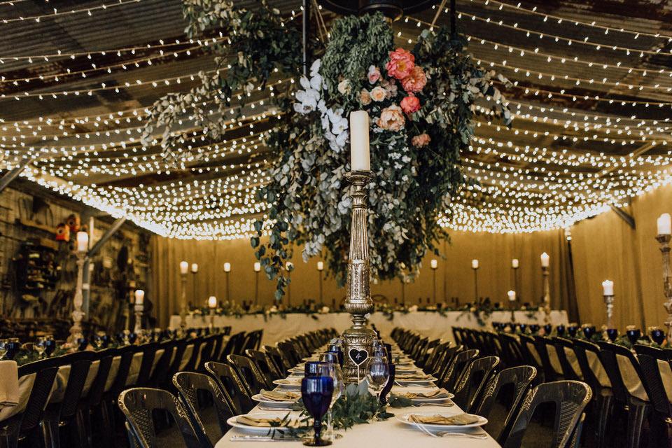 Grand Bistro Wombat Hollow wedding reception