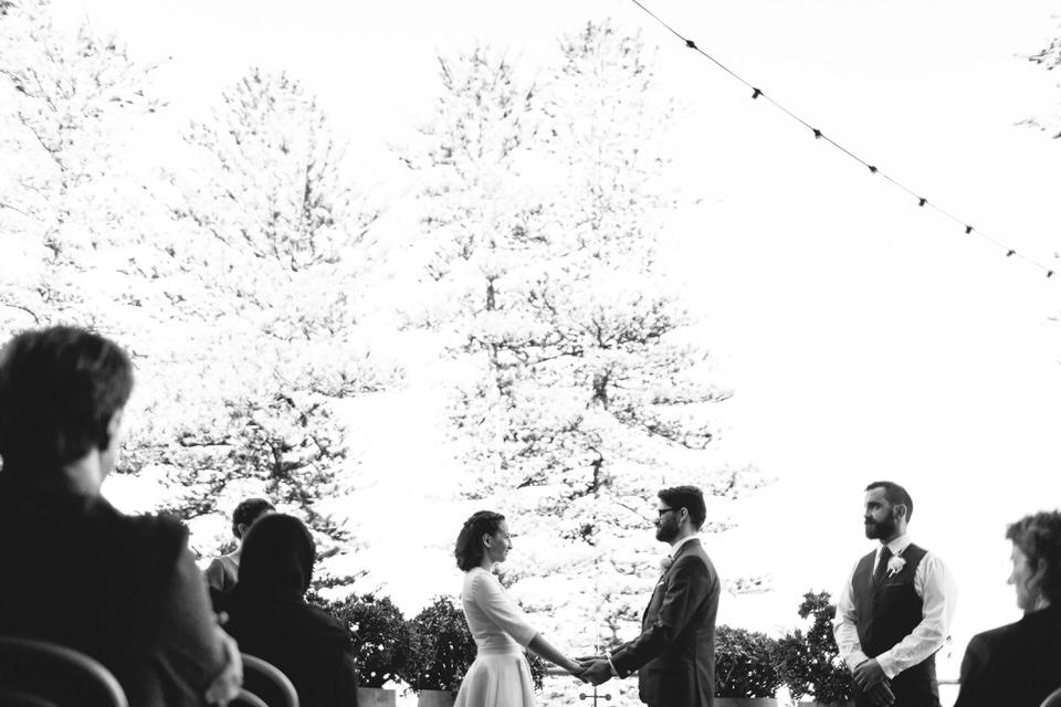 Wedding ceremony at Beachside Dojo Manly