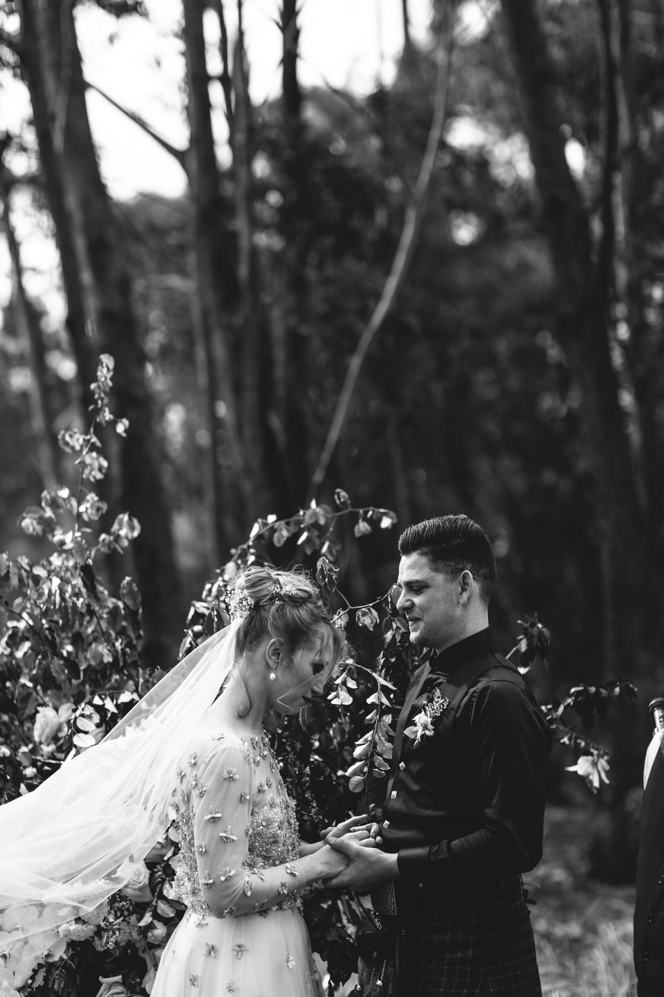 Wombat Hollow Southern Highlands wedding ceremony