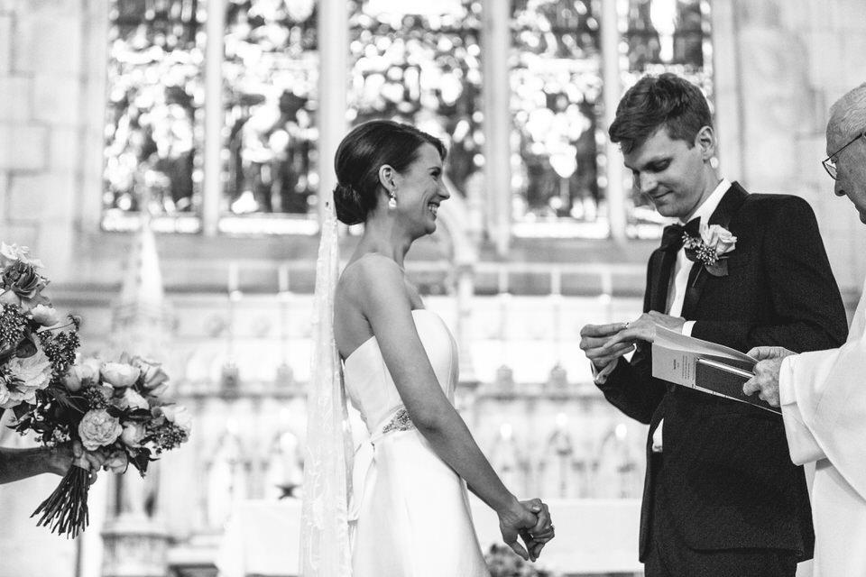 Randwick church wedding ceremony