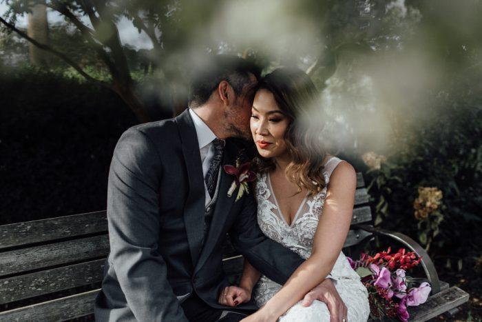 Centennial Park wedding photos