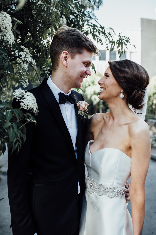 Romantic sydney wedding at Three Blue Ducks Rosebery
