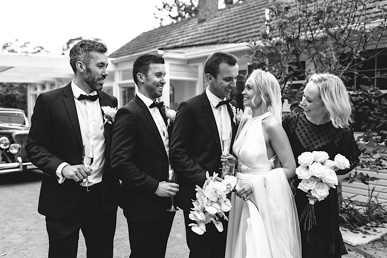 Bridal Party at Arafel Park