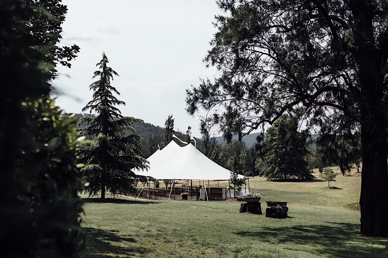 Redleaf Wollombi wedding marquee