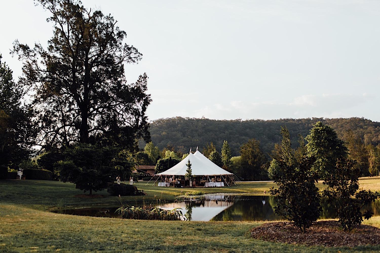 KataLane marquee Redleaf wedding in Hunter Valley