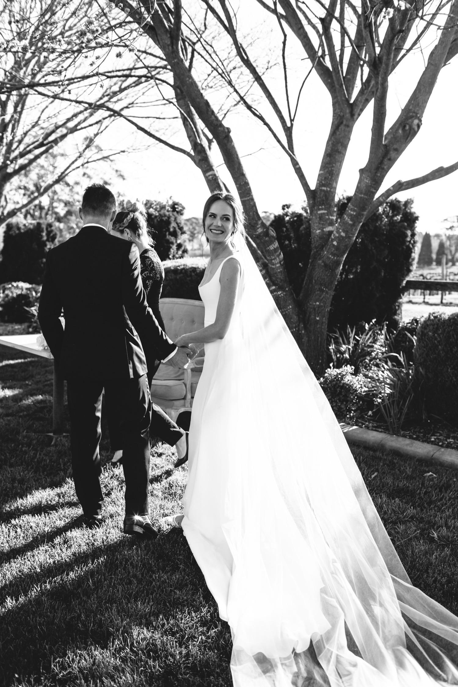 Centennial vineyards wedding ceremony