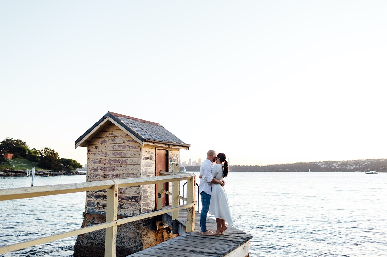 Watsons Bay Sydney engagement photos