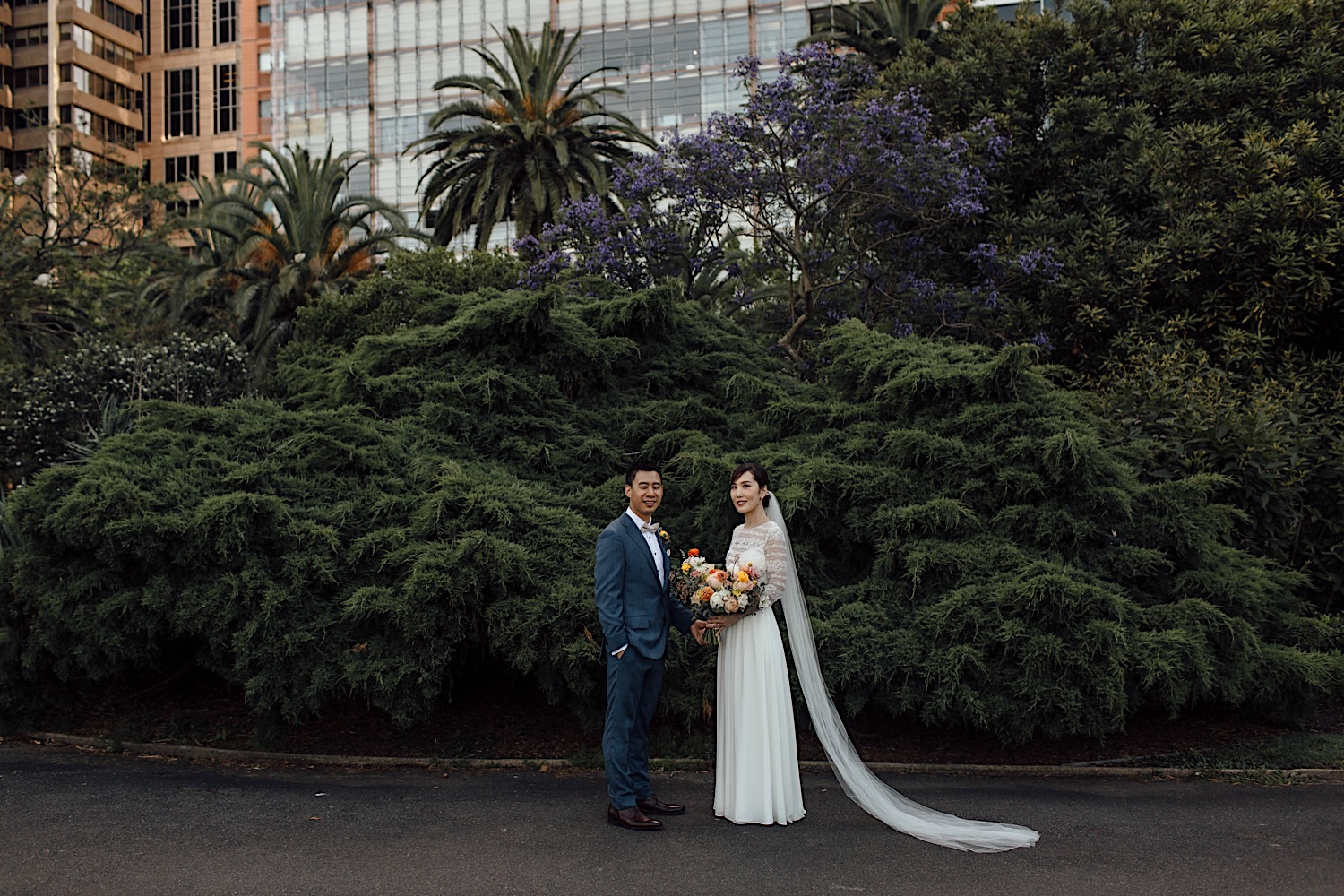 wedding at the Royal Botanic Garden Sydney