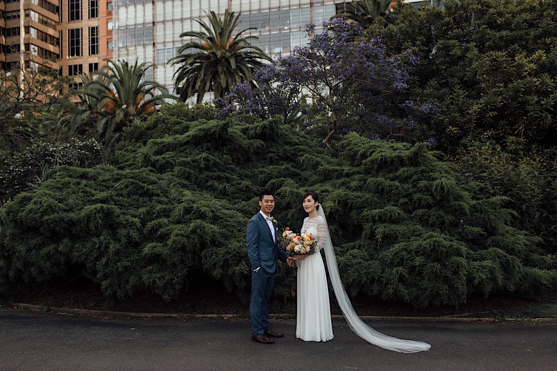 wedding at the Royal Botanic Garden Sydney