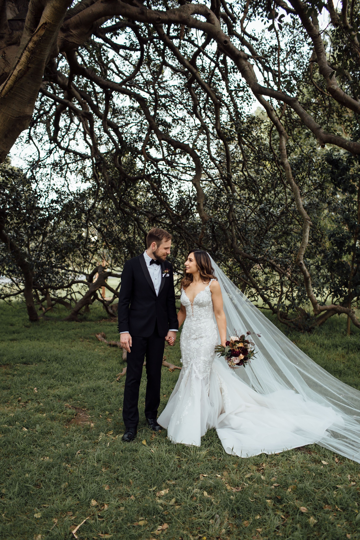 She-Oak Grove Centennial Park wedding photos