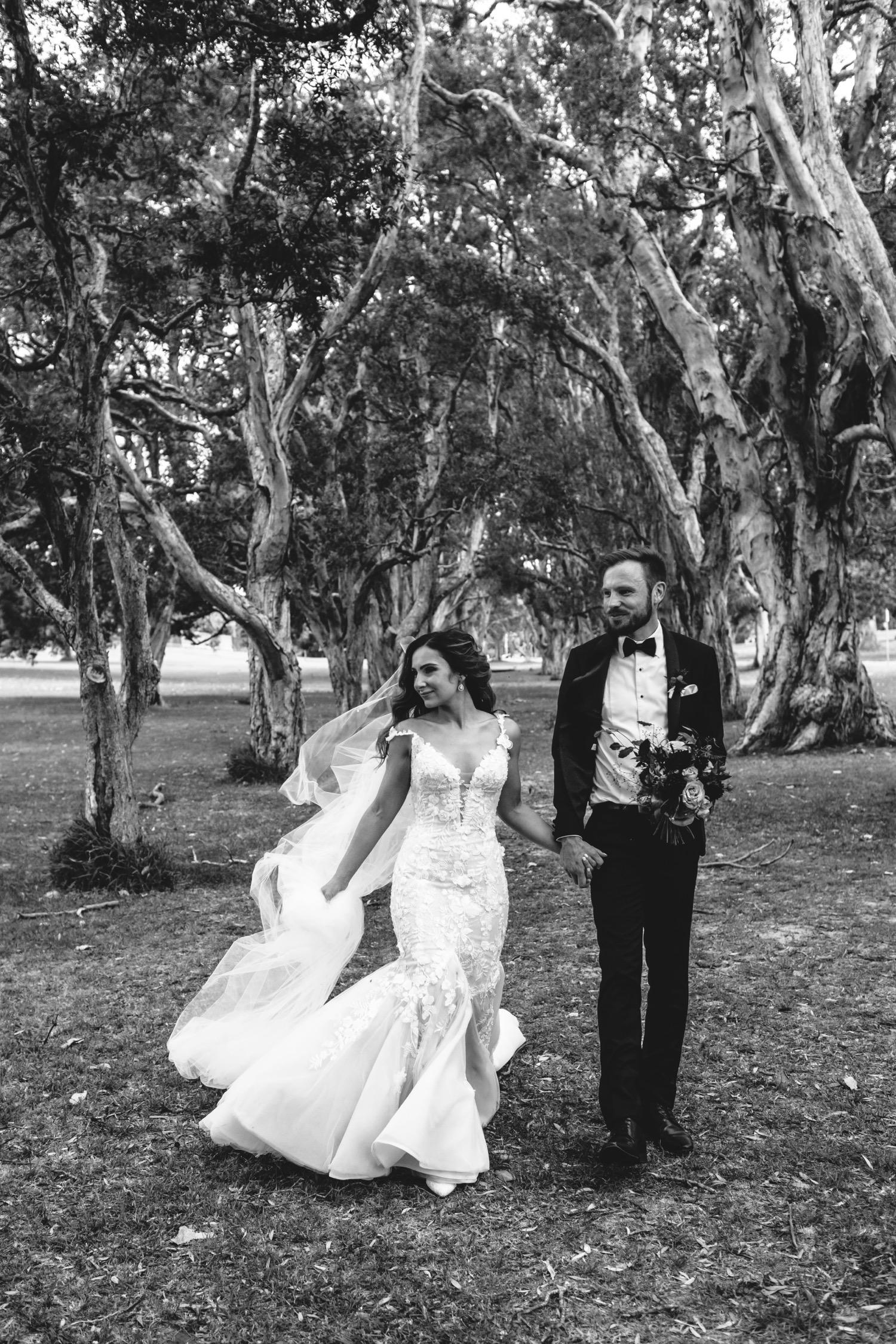 Paperbark Grove Centennial Park Wedding Photos