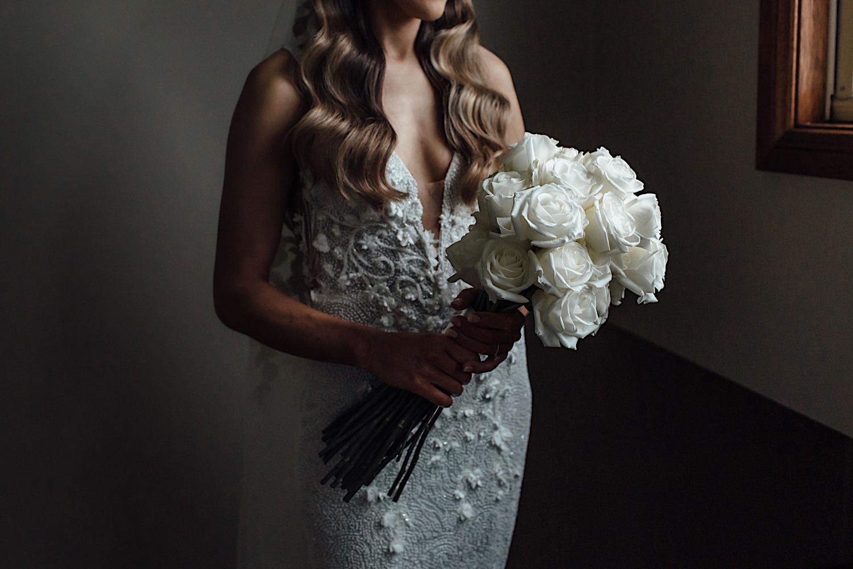 Romantic luxe Sydney wedding bouquet