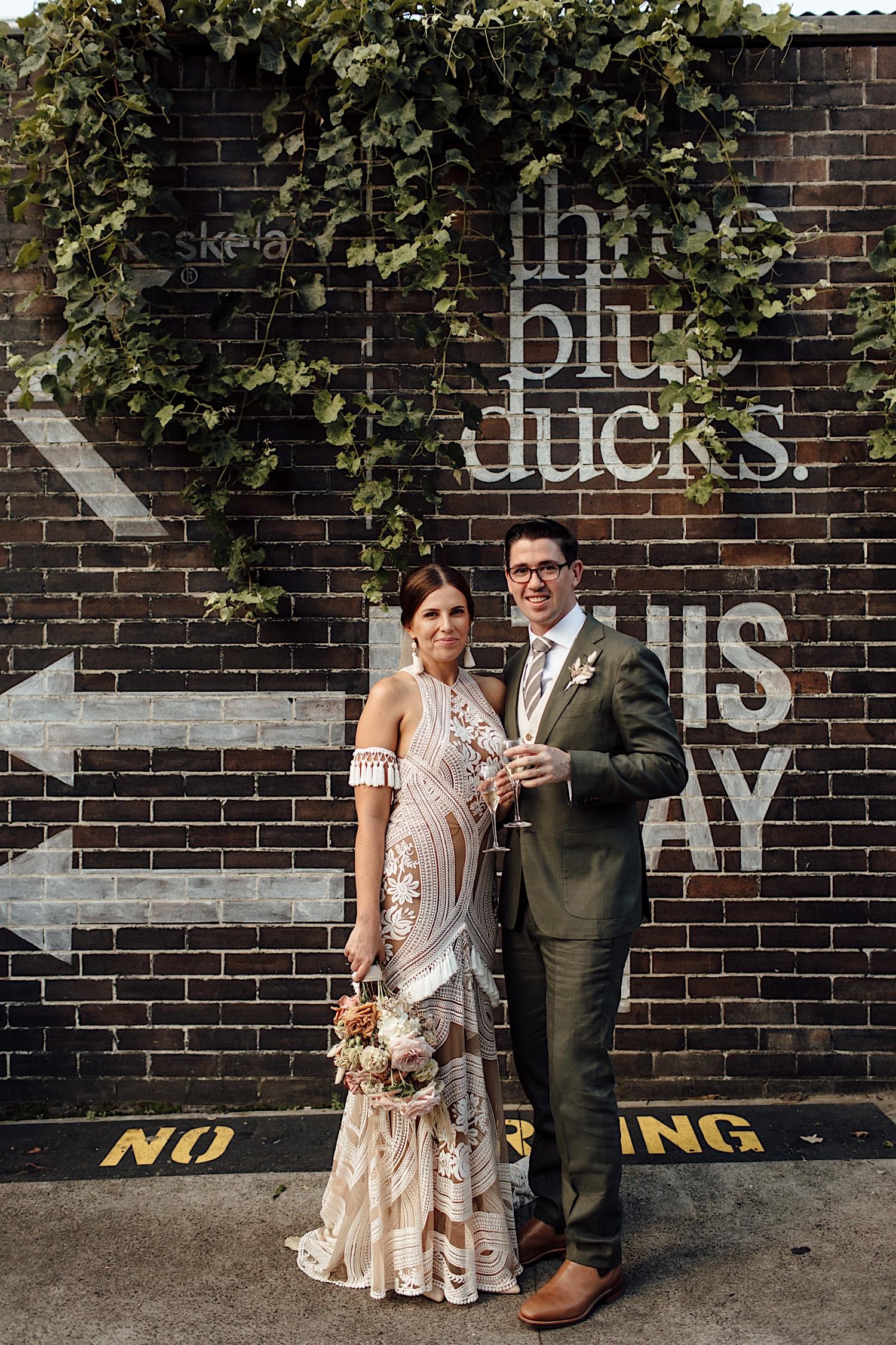 Three Blue Ducks wedding Rosebery