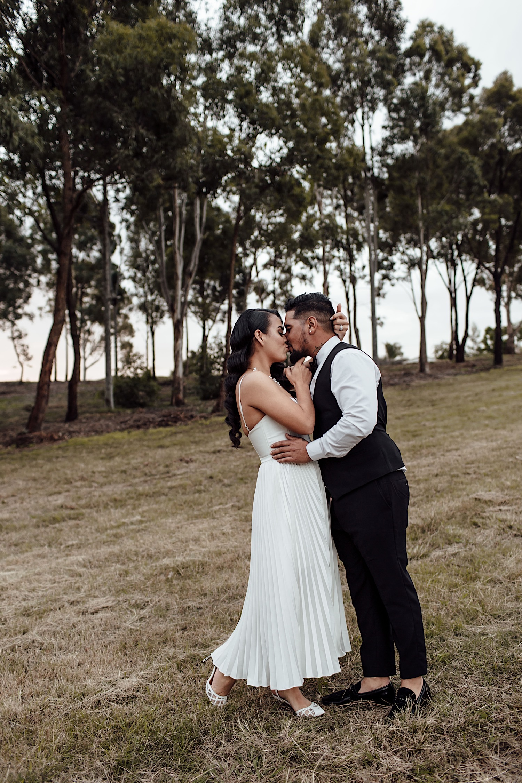 Romantic winter wedding in Sydney